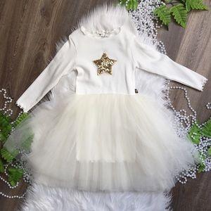 Petite Hailey Girls Knit Dress